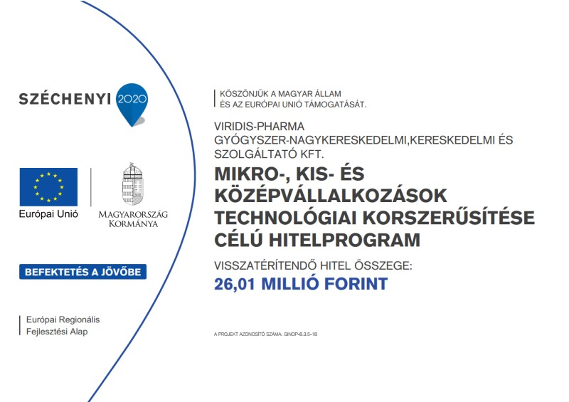 Széchenyi 2020 - A mikro-, kis- és középvállalkozások technológiai korszerűsítése célú hitelprogram